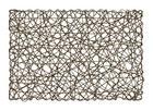 TISCHSET 30/45 cm Papier - Dunkelbraun, Design, Papier (30/45cm) - Homeware