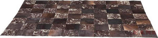 TEPPICH   Braun - Braun, Trend, Leder/Textil (170/1/240cm) - KARE-Design