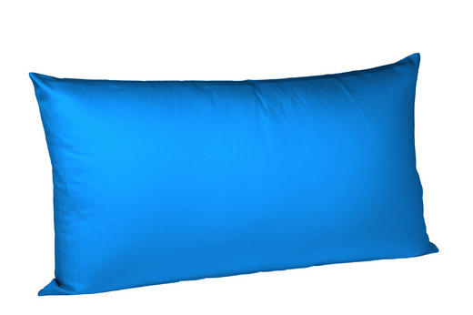 KISSENHÜLLE Blau 40/80 cm - Blau, Basics, Textil (40/80cm) - Fleuresse