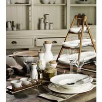 OLIVENSCHALE Keramik Fine China  - Weiß, Basics, Keramik (8/28cm) - Villeroy & Boch