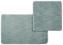 BADEMATTE  Mintgrün  50X80/50X50 cm     - Mintgrün, Kunststoff/Textil (50X80/50X50cm) - Esposa