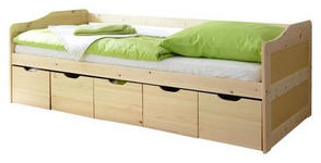 STAURAUMBETT - Kieferfarben, MODERN, Holz (90/200cm) - Carryhome