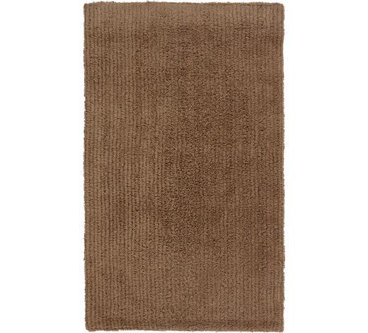 BADEMATTE in Taupe 60/100 cm - Taupe, Natur, Textil (60/100cm) - Linea Natura
