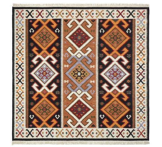 KOBEREC ORIENTÁLNÍ, 150/150 cm, hnědá, béžová - hnědá/béžová, Lifestyle, textil (150/150cm) - Esposa