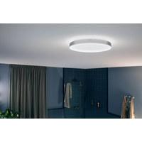 BADEZ.-DECKENLEUCHTE HUE WHITE - Chromfarben/Weiß, Design, Kunststoff/Metall (40,7/6cm) - Philips