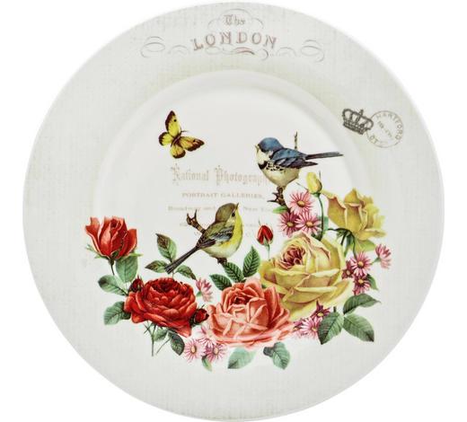 TALÍŘ DEZERTNÍ, kostní porcelán (bone china) - vícebarevná, Lifestyle, keramika (19cm) - Landscape