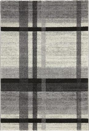 VÄVD MATTA 120/170 cm - beige/grå, Klassisk, ytterligare naturmaterial/textil (120/170cm) - Novel