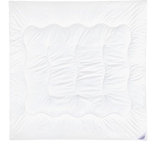PŘIKRÝVKA, 200/200 cm, polyester - bílá, Basics, textil (200/200cm) - Sleeptex