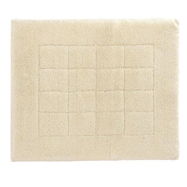 Badematte 55 x 65  Creme  55/65 cm - Creme, Basics, Kunststoff/Textil (55/65cm) - VOSSEN