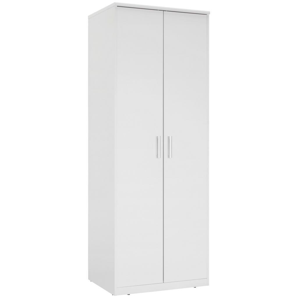 Xora Kleiderschrank 2-türig weiß
