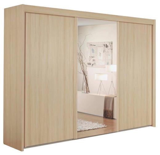 SCHWEBETÜRENSCHRANK 3-türig Buchefarben - Buchefarben, Basics, Holzwerkstoff (300/223/65cm) - Cantus