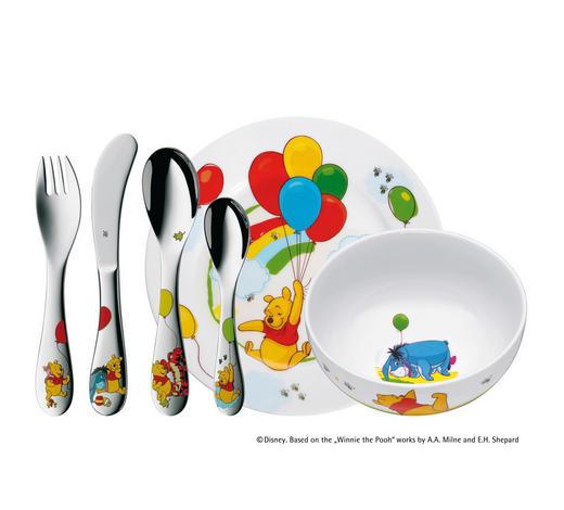 SET PRIBORA ZA JELO  6-dijelni     - višebojno, Basics, metal/keramika (40/25/10cm) - WMF