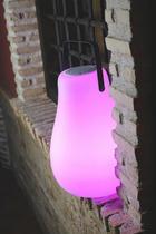 LED LEUCHTE KURBY 38 PLAY - Weiß, Design, Kunststoff (27,5/45cm)