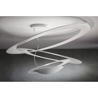 PIRCE MINI DL W HALO  1247010A - Weiß, Design, Metall (69/36cm) - Artemide