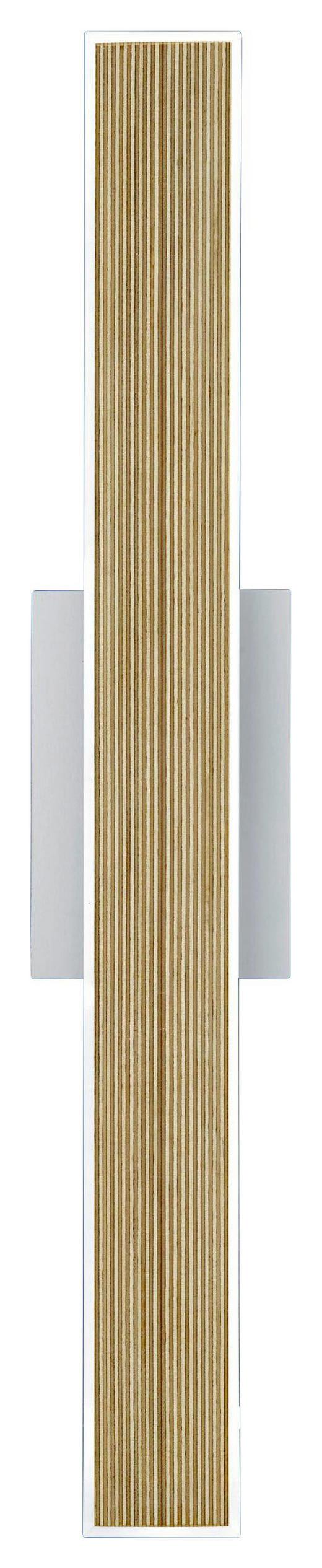 LED-WANDLEUCHTE - Weiß, Design, Kunststoff (6/57cm)