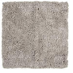 BADEMATTE  60/60 cm  Taupe   - Taupe, Basics, Kunststoff/Textil (60/60cm) - Ambiente