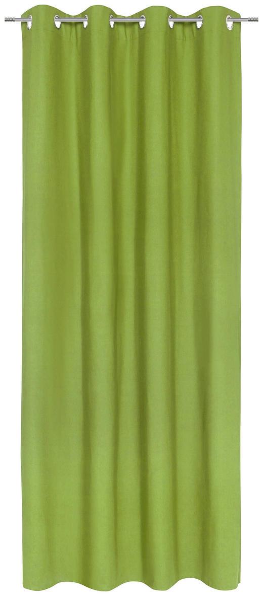 ÖSENSCHAL  blickdicht  140/245 cm - Grün, Basics, Textil (140/245cm) - Esposa