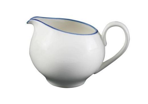 GRÄDDKANNA - vit/blå, Klassisk, keramik (9,5/8,2cm) - Landscape