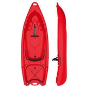 SIT-ON-TOP KAJAK K1 - Rot, Trend, Kunststoff (239/79/29cm)