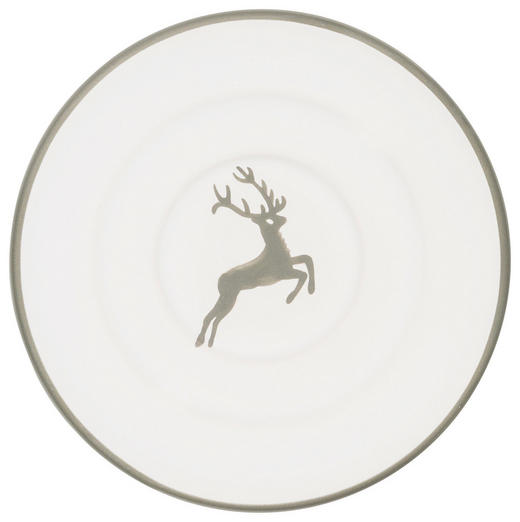 UNTERTASSE - Weiß/Grau, LIFESTYLE, Keramik (10,5cm) - Gmundner