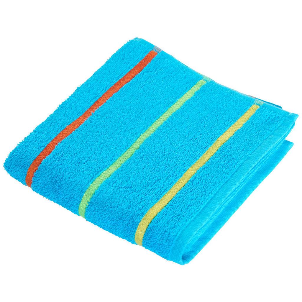 Image of Ben'n'jen Handtuch 50/90 cm , Funny , Blau , Textil , Streifen , 50x90 cm , saugfähig, hochwertige Qualität , 004893009901