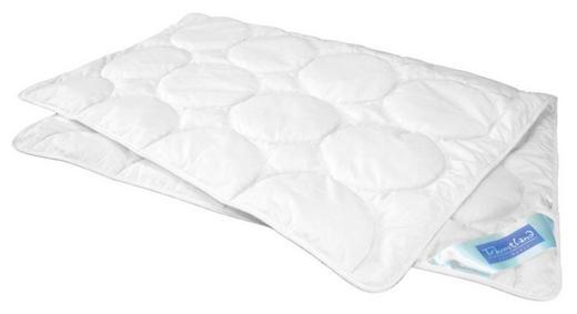 PŘIKRÝVKA DĚTSKÁ - bílá, Basics, textilie (100/135cm) - Träumeland