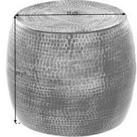 BEISTELLTISCH in Kupferfarben - Kupferfarben, Trend, Metall (39 39 39cm) - Ambia Home
