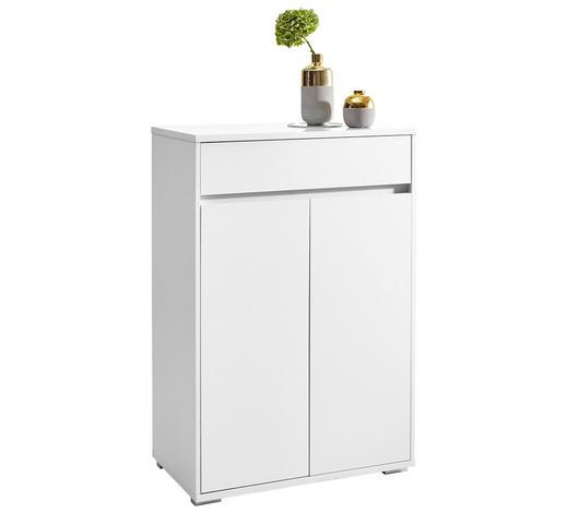 KOMMODE 80/120/48 cm - Alufarben/Weiß, Design, Holzwerkstoff/Kunststoff (80/120/48cm) - Carryhome