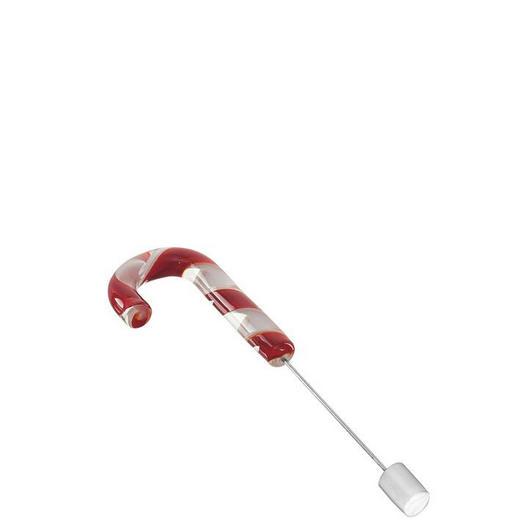 DEKOHÄNGER  Rot, Weiß - Rot/Weiß, Glas/Metall (20cm) - Leonardo