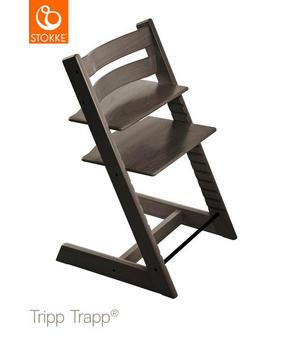 Stokke Tripp Trapp - antracit, Lifestyle, trä (46/79/49cm) - Stokke