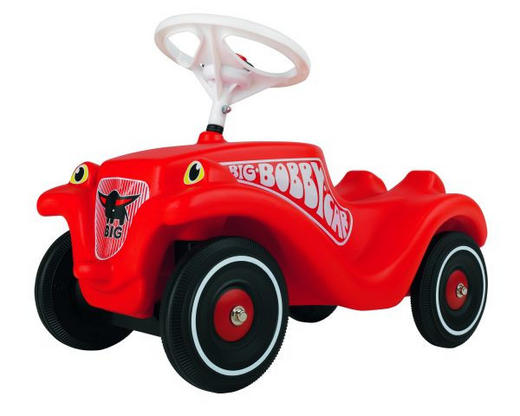 Big Bobby Car Classic - Rot/Schwarz, Basics, Kunststoff (58/30/38cm) - BIG