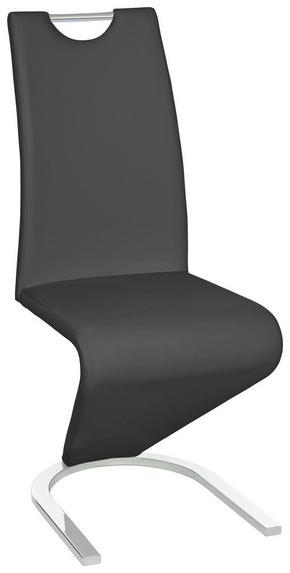 SVIKTSTOL - kromfärg/svart, Design, metall/textil (45/102/62cm) - Carryhome