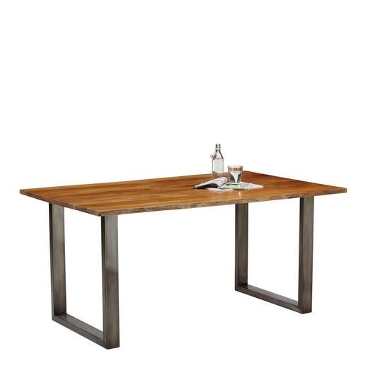 ESSTISCH in Holz 160/90/78 cm - Akaziefarben, Natur, Holz/Metall (160/90/78cm) - Carryhome