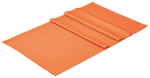 TISCHLÄUFER Textil Orange 50/150 cm - Orange, Basics, Textil (50/150cm)