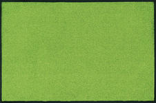 FUßMATTE 120/180 cm Uni Hellgrün - Hellgrün, Basics, Kunststoff/Textil (120/180cm) - Esposa