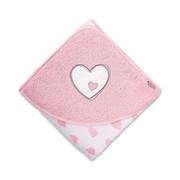 KAPUZENBADETUCH - Rosa/Weiß, Textil (100/100/0,5cm) - Sterntaler