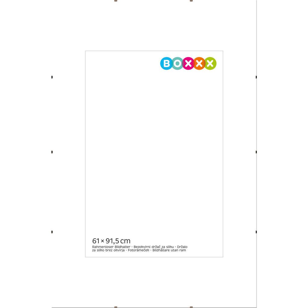 Image of Boxxx Cliprahmen in klar , 634584 , Glas , 61x1 cm , 0043420179