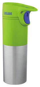 ISOLIERFLASCHE 0,5 l - Grün, Design, Metall (,5l)