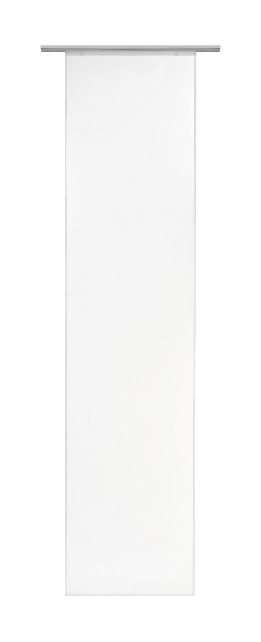 ZÁVĚS PLOŠNÝ - bílá, Basics, textilie (60/255cm) - Boxxx