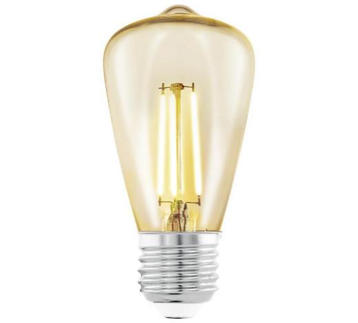 LED-LEUCHTMITTEL  E27 3,5 W  - Klar, Basics, Metall (10,5cm)