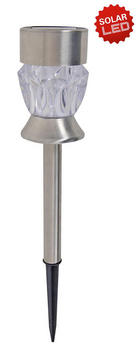 SOLARLEUCHTE - Design, Kunststoff/Metall (6/34cm)