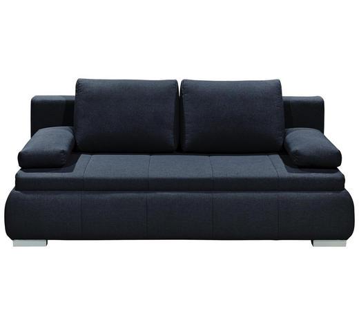 SCHLAFSOFA in Textil, Holzwerkstoff Grau - Silberfarben/Grau, KONVENTIONELL, Holzwerkstoff/Kunststoff (208/95/105cm) - Carryhome