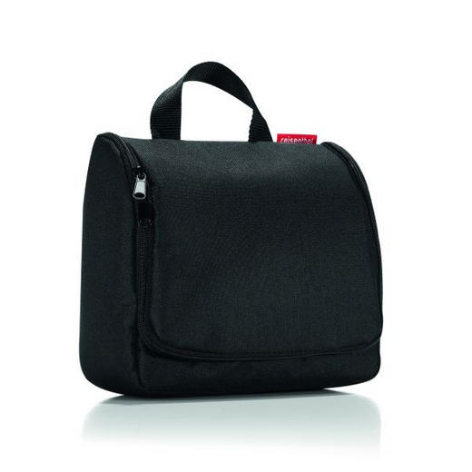 TOILETBAG L BLACK - Schwarz, Basics, Textil - REISENTHEL