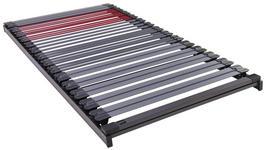 LATTENROST 90/200 cm  - Schieferfarben/Anthrazit, Basics, Holz/Kunststoff (90/200cm) - Dieter Knoll