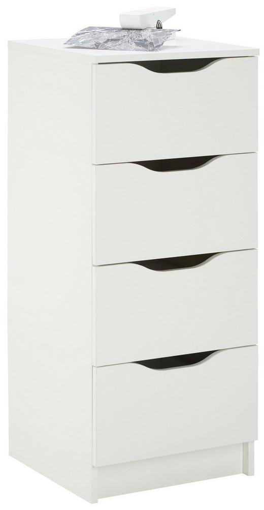 KOMMODE Weiß - Weiß, LIFESTYLE (40/92/40cm) - Carryhome