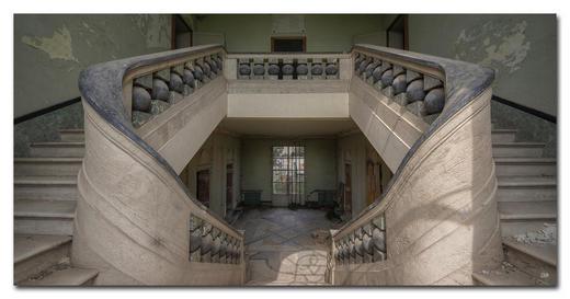Architektur BILD CAN YOU FEEL - Multicolor, Basics, Holzwerkstoff/Kunststoff (200/100cm) - Wiedemann