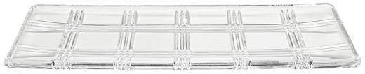 DEKOSCHALE - Transparent, Basics, Glas (41,5/15/2,5cm) - Novel