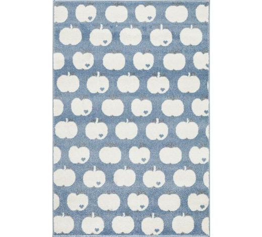 KINDERTEPPICH  120/180 cm  Blau, Weiß   - Blau/Weiß, Basics, Textil (120/180cm)