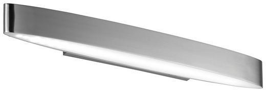 Badezimmer LED Wandleuchte - Nickelfarben, Basics, Kunststoff/Metall (5/5/8,5cm)