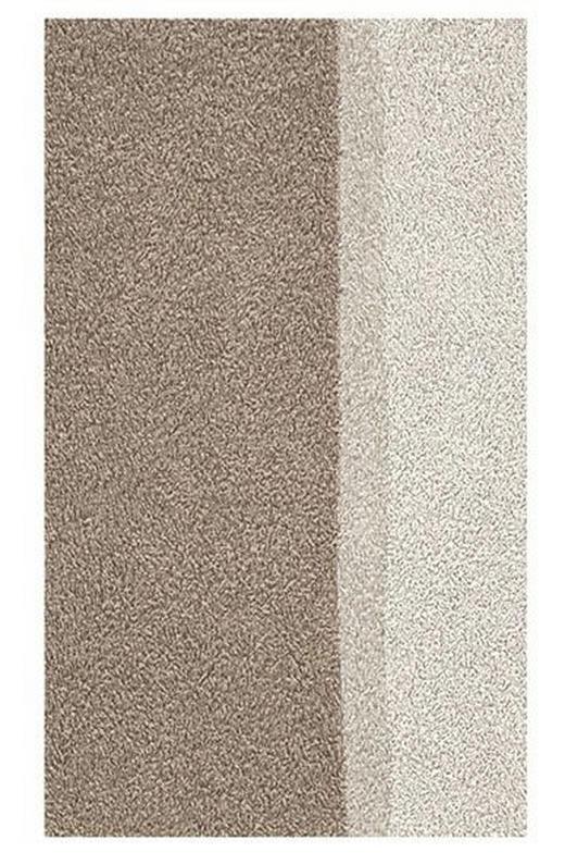 BADTEPPICH  Beige  55/65 cm - Beige, Basics, Kunststoff/Textil (55/65cm) - Kleine Wolke
